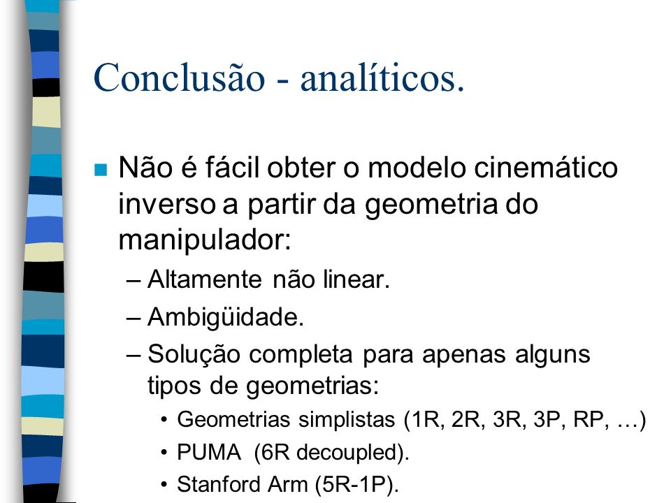 Conclusão - analíticos.