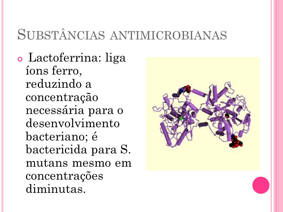 Substâncias antimicrobianas