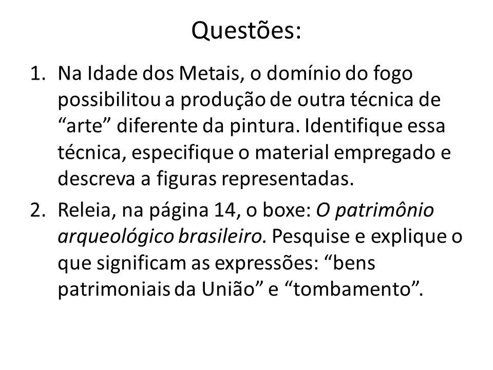 Questões: