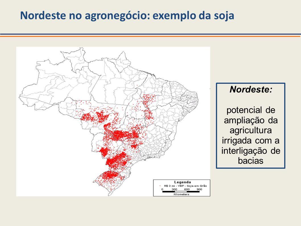 Nordeste no agronegócio: exemplo da soja