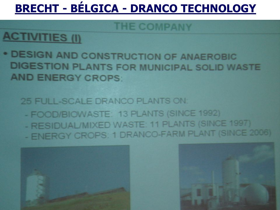BRECHT - BÉLGICA - DRANCO TECHNOLOGY