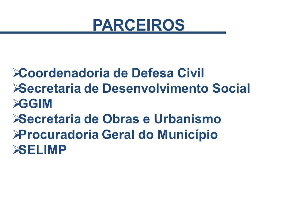 PARCEIROS Coordenadoria de Defesa Civil