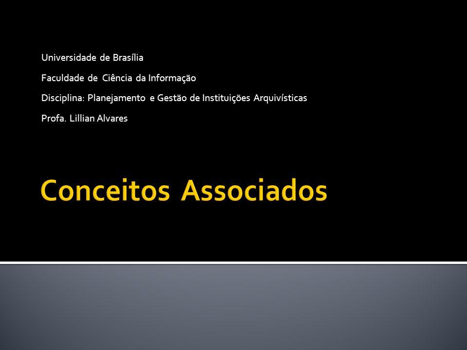 Conceitos Associados Universidade de Brasília