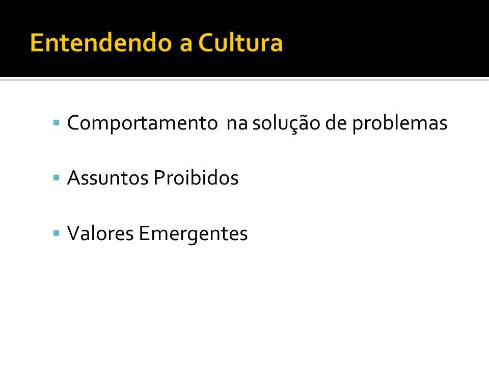 Entendendo a Cultura Comportamento na solução de problemas
