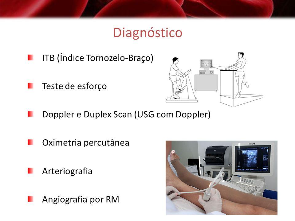 Diagnóstico ITB (Índice Tornozelo-Braço) Teste de esforço