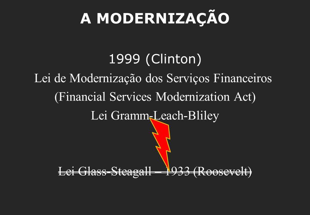 A MODERNIZAÇÃO 1999 (Clinton)