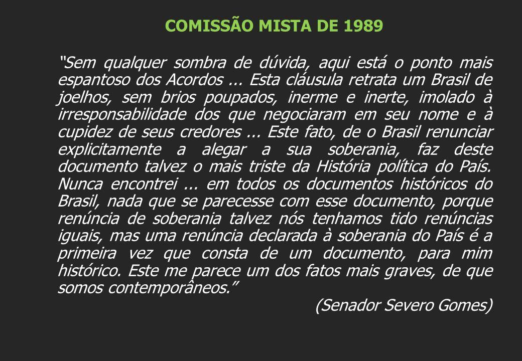 COMISSÃO MISTA DE 1989