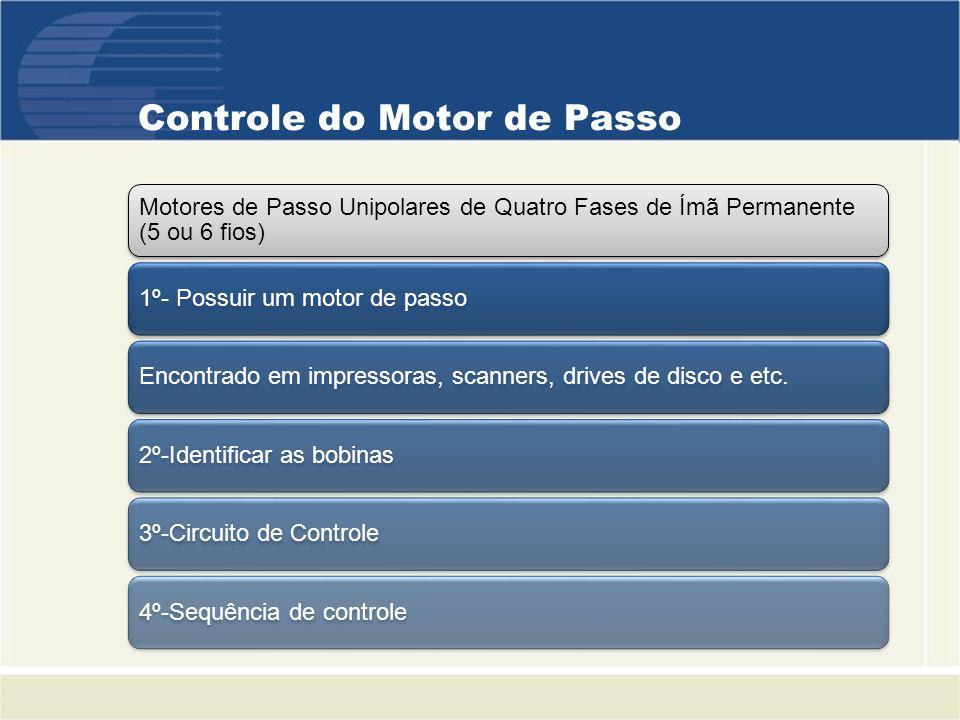Controle do Motor de Passo