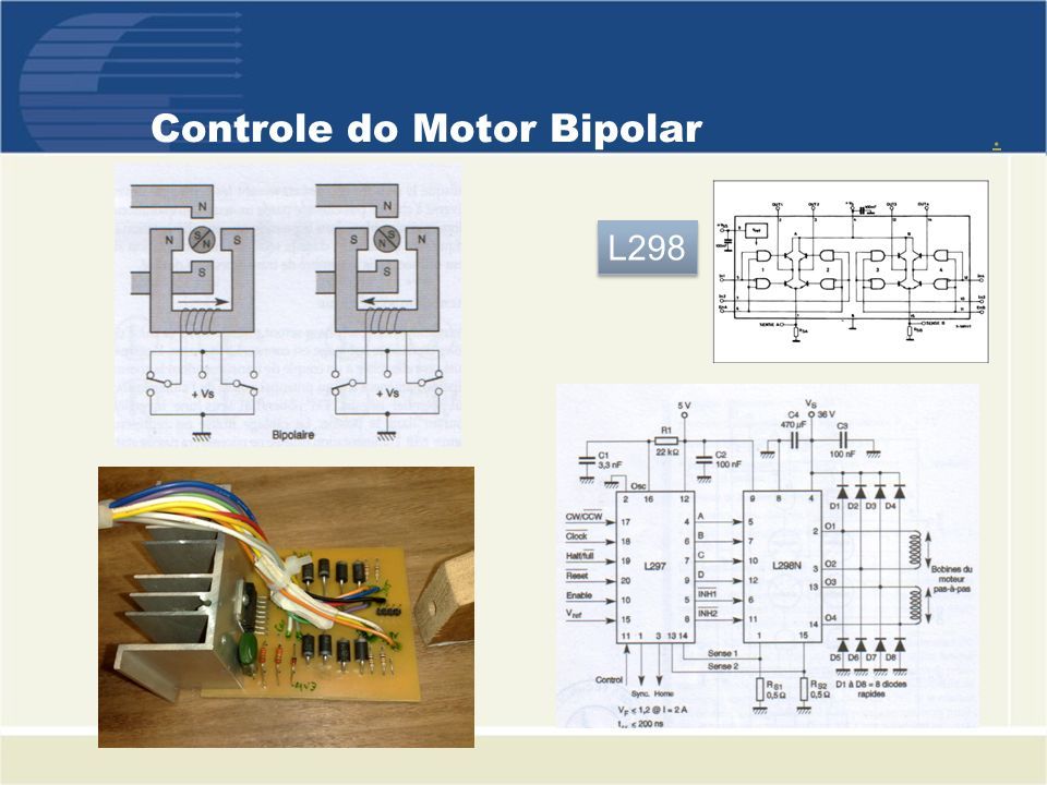 Controle do Motor Bipolar