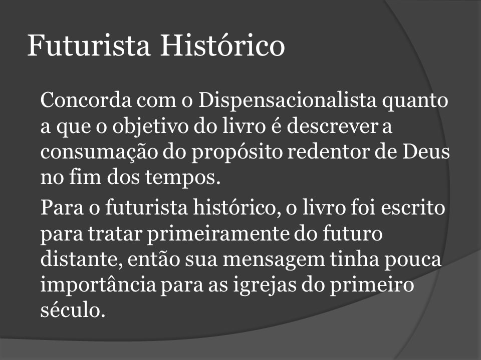 Futurista Histórico