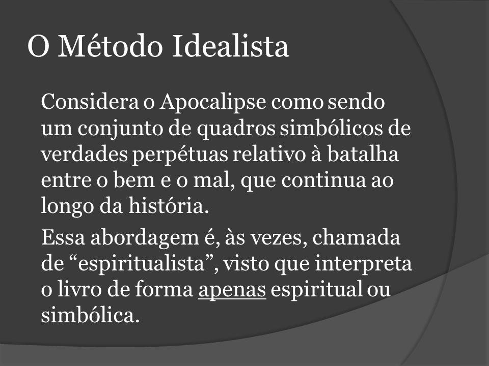 O Método Idealista