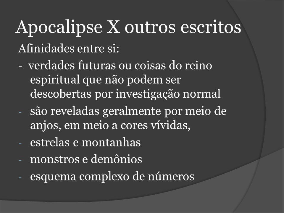 Apocalipse X outros escritos