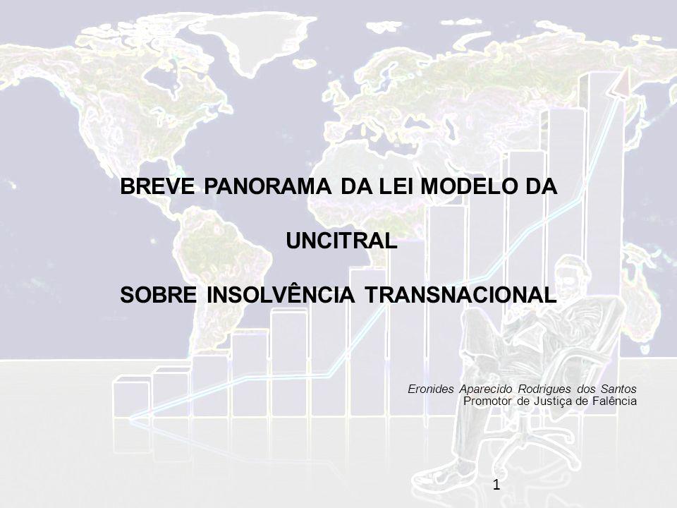 BREVE PANORAMA DA LEI MODELO DA