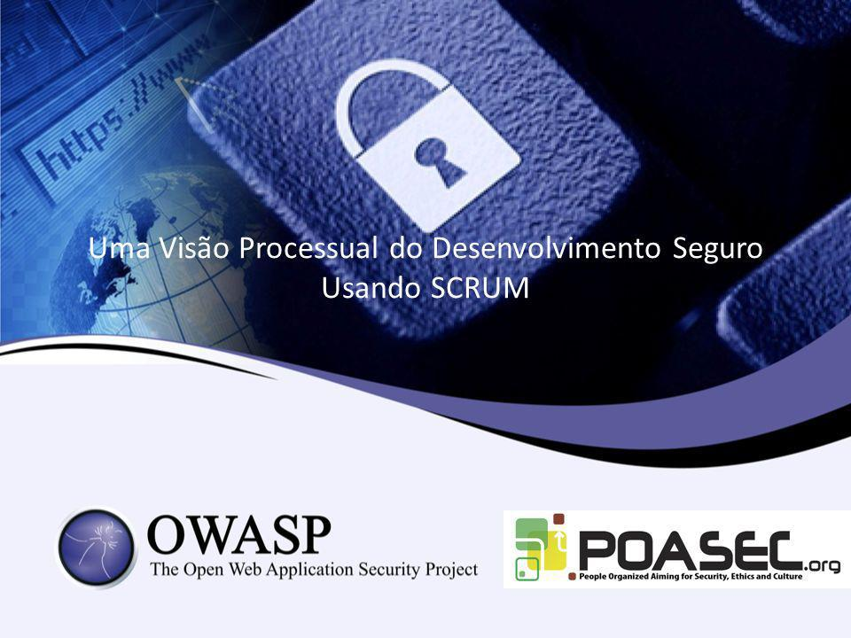 Uma Visão Processual do Desenvolvimento Seguro Usando SCRUM
