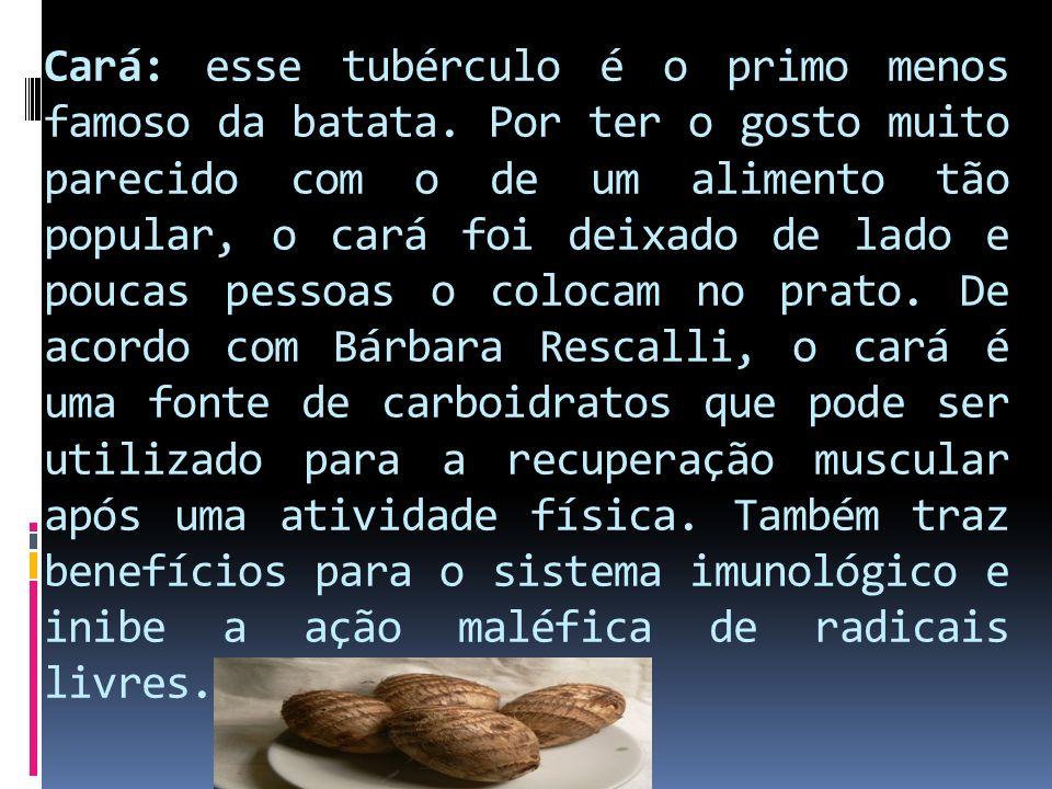 Cará: esse tubérculo é o primo menos famoso da batata