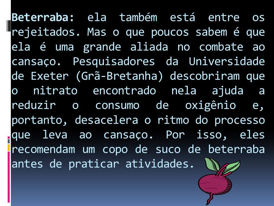 Beterraba: ela também está entre os rejeitados