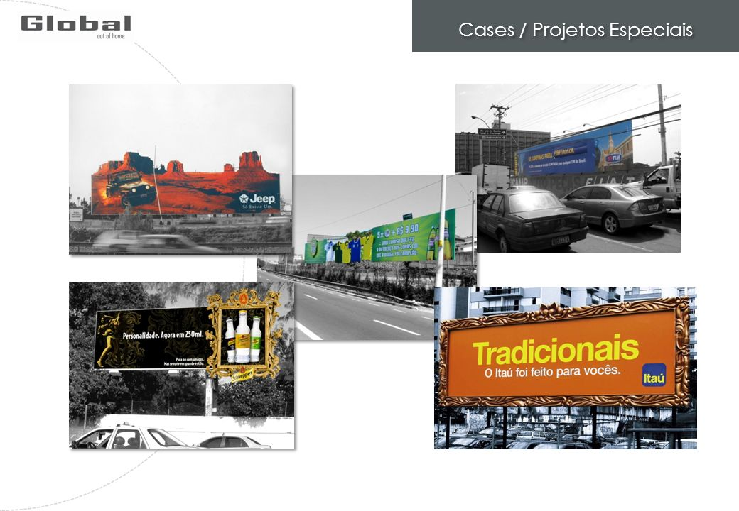 Cases / Projetos Especiais