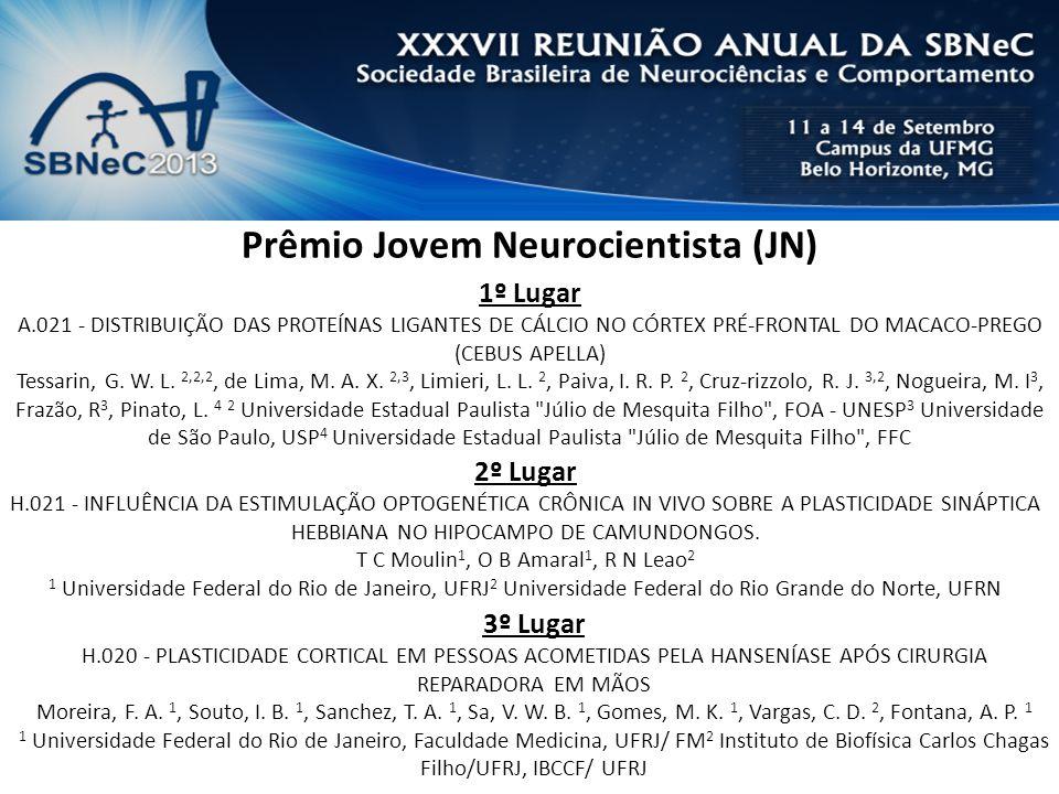 Prêmio Jovem Neurocientista (JN)