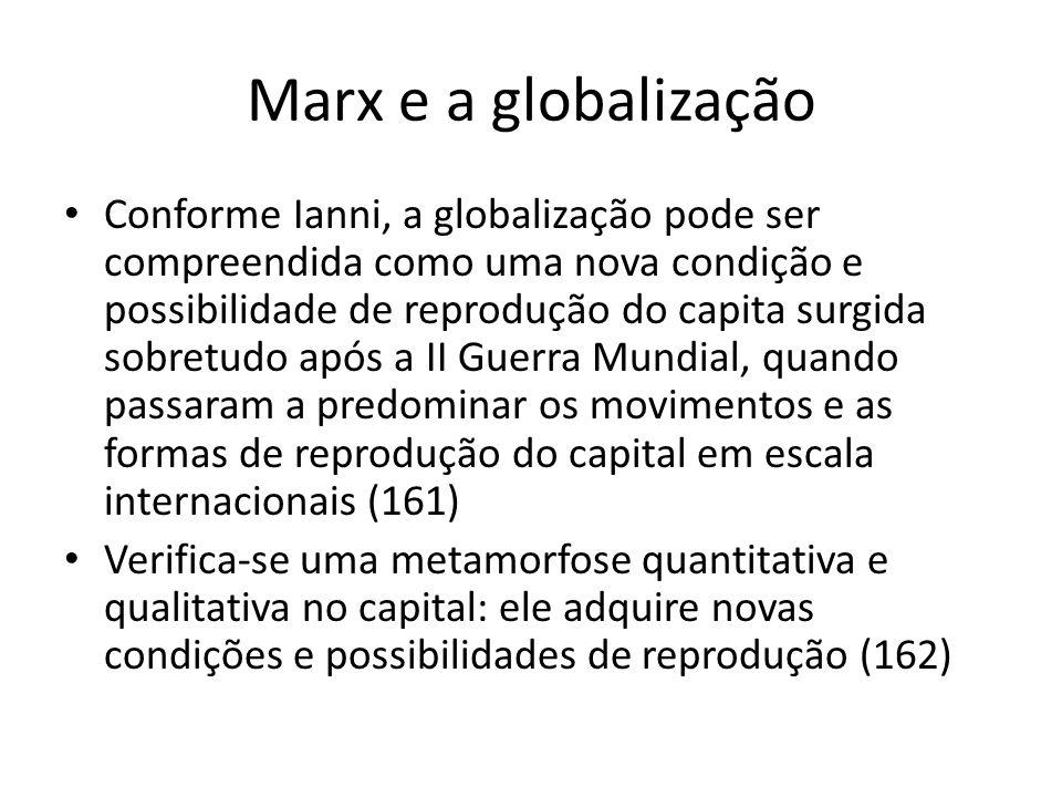 Marx e a globalização