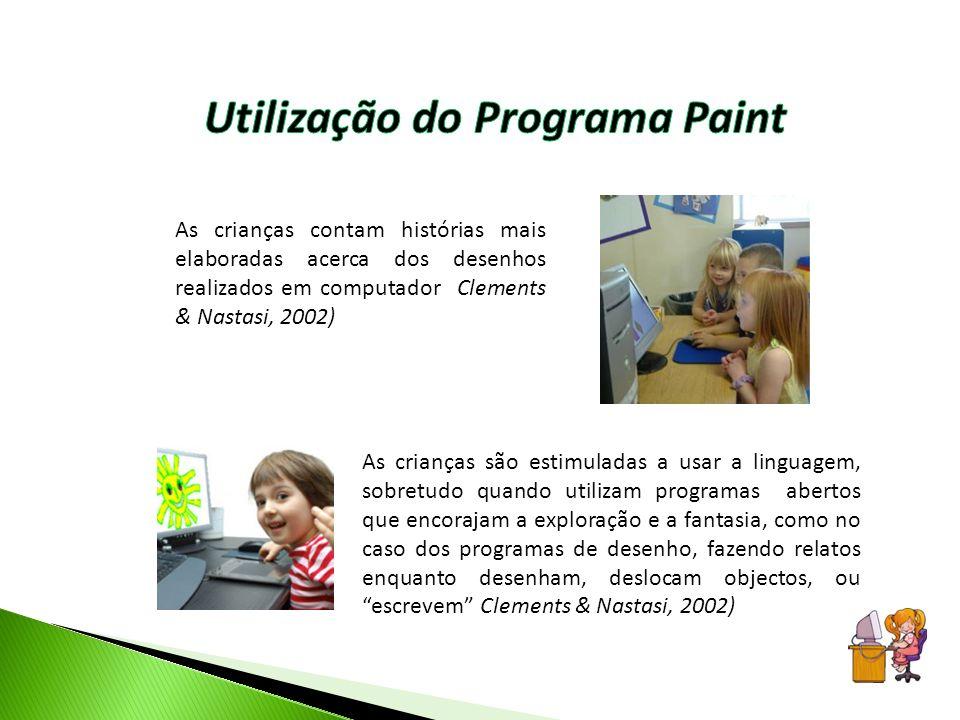 Utilização do Programa Paint