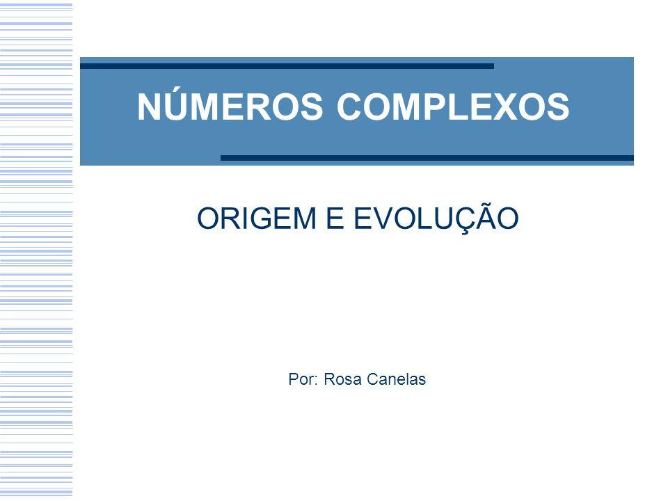 ORIGEM E EVOLUÇÃO Por: Rosa Canelas