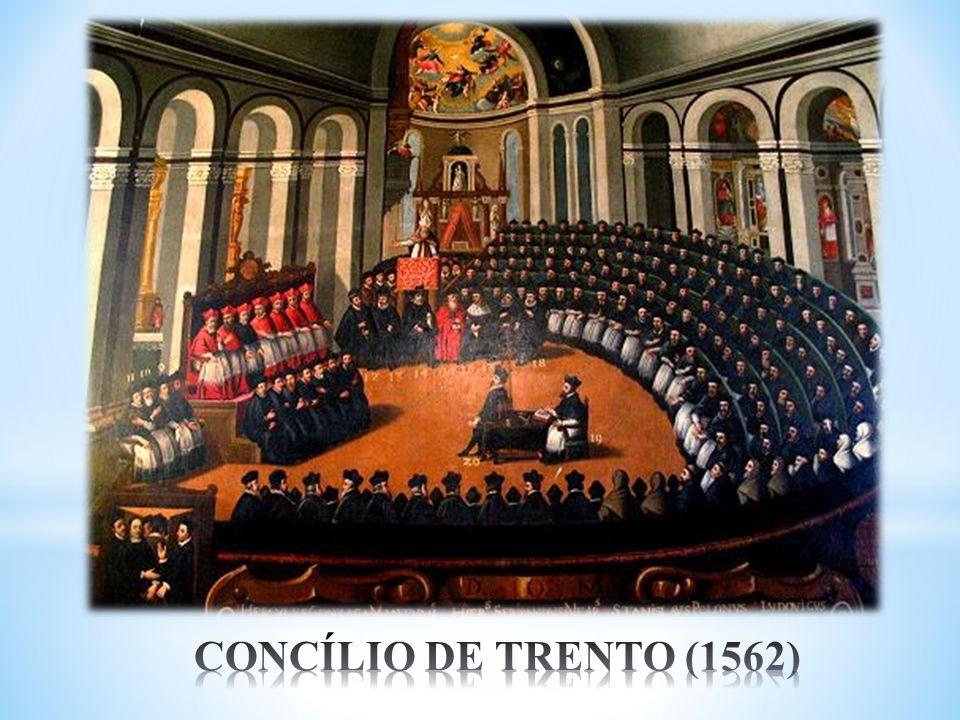 CONCÍLIO DE TRENTO (1562)
