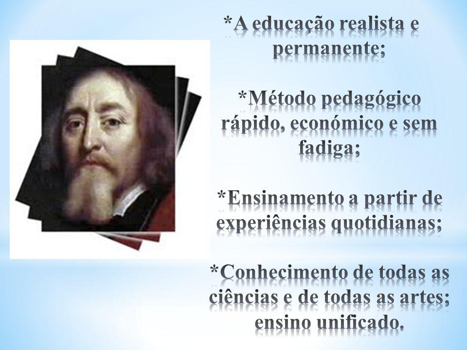 A educação realista e permanente;