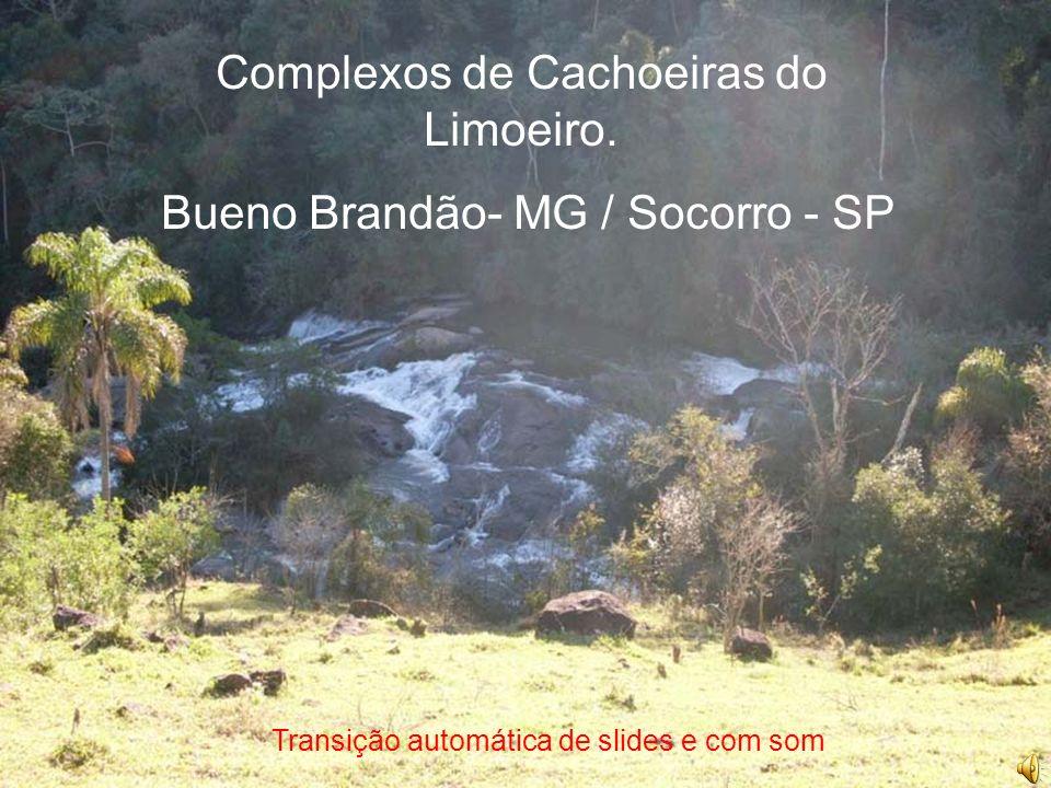 Complexos de Cachoeiras do Limoeiro. Bueno Brandão- MG / Socorro - SP
