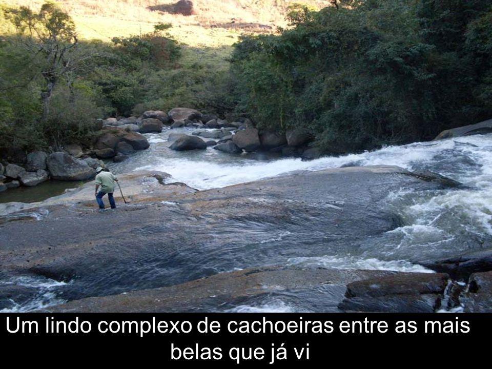 Um lindo complexo de cachoeiras entre as mais