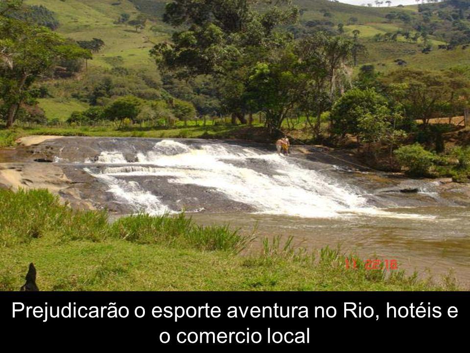 Prejudicarão o esporte aventura no Rio, hotéis e o comercio local