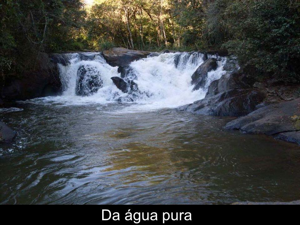 Da água pura