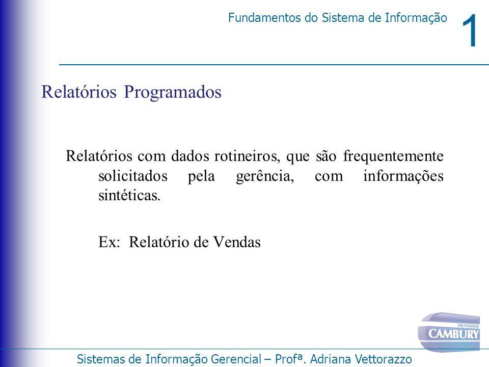 Relatórios Programados