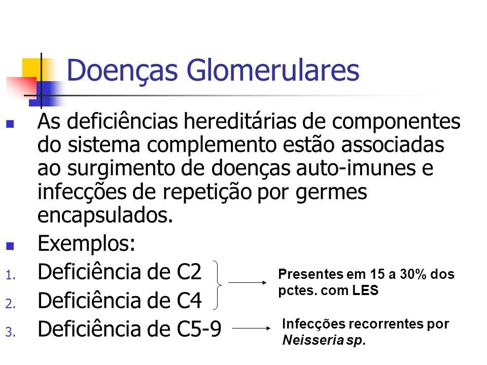 Doenças Glomerulares