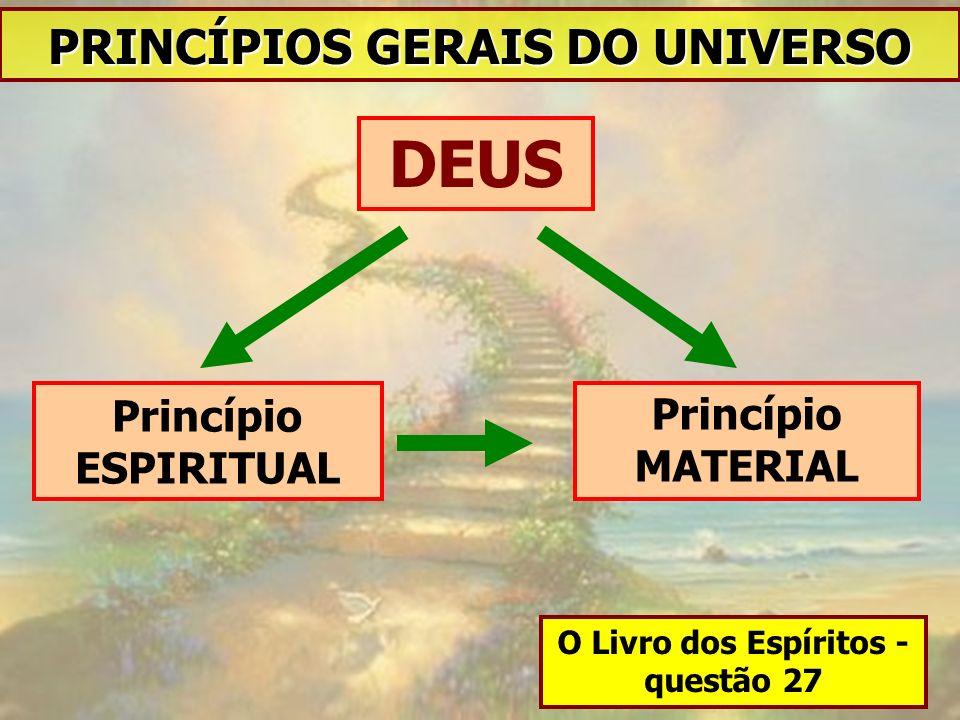 PRINCÍPIOS GERAIS DO UNIVERSO O Livro dos Espíritos - questão 27