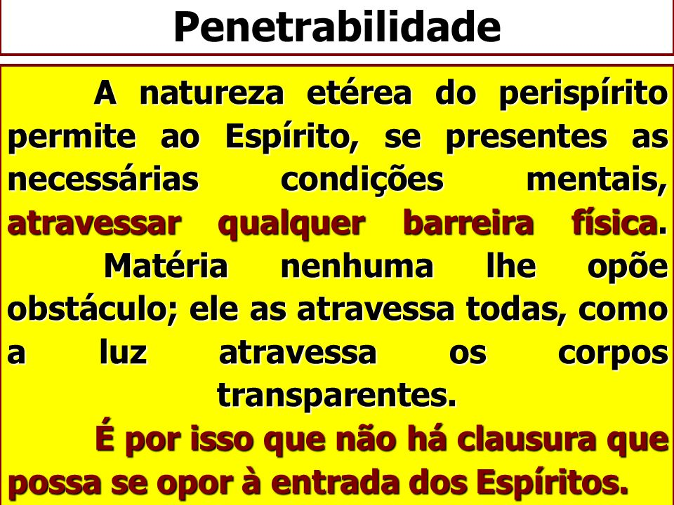 Penetrabilidade