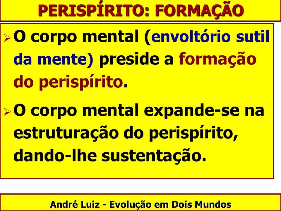 PERISPÍRITO: FORMAÇÃO André Luiz - Evolução em Dois Mundos