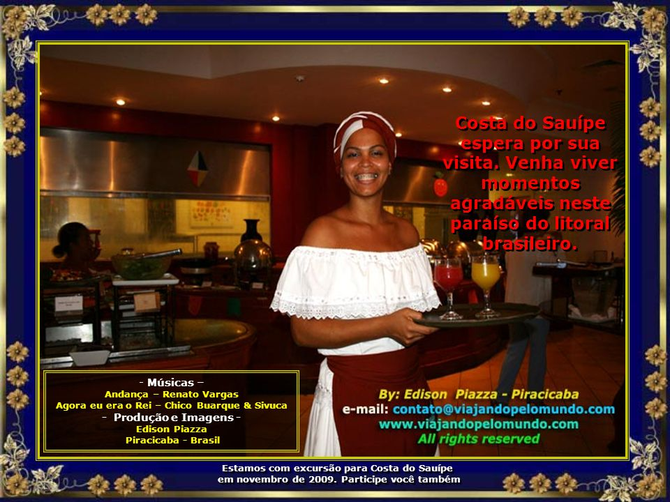 Costa do Sauípe espera por sua visita