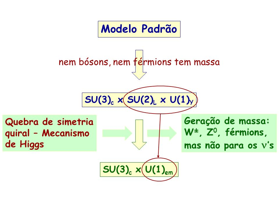 Modelo Padrão nem bósons, nem férmions tem massa