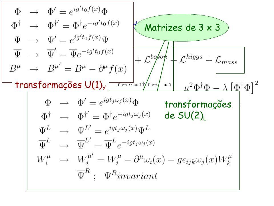 Lagrangeano do Modelo Padrão