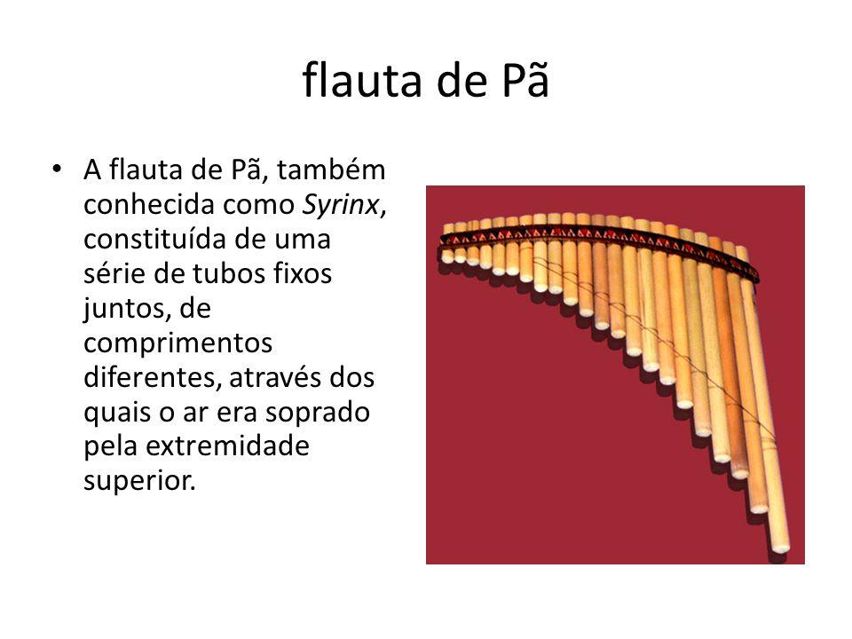 flauta de Pã