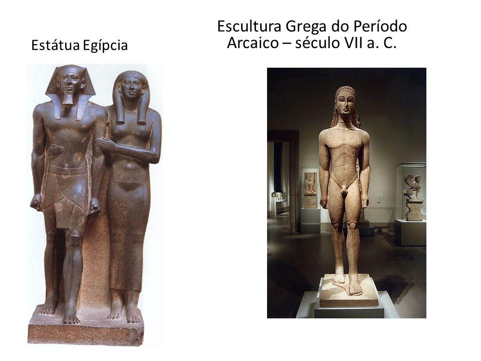 Escultura Grega do Período Arcaico – século VII a. C.