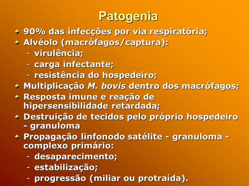 Patogenia 90% das infecções por via respiratória;