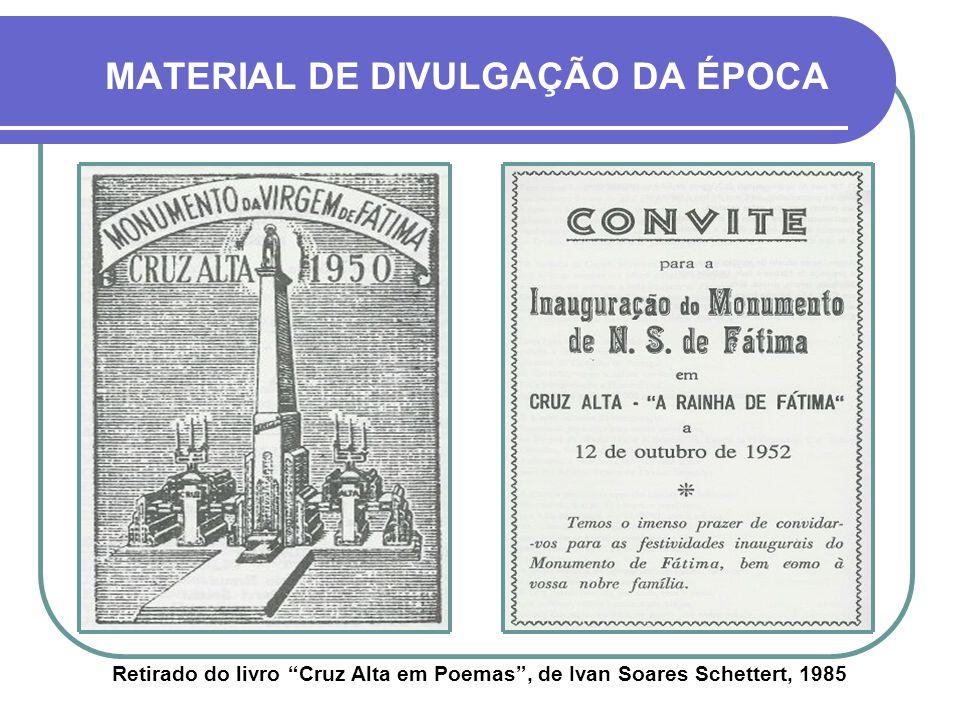 MATERIAL DE DIVULGAÇÃO DA ÉPOCA