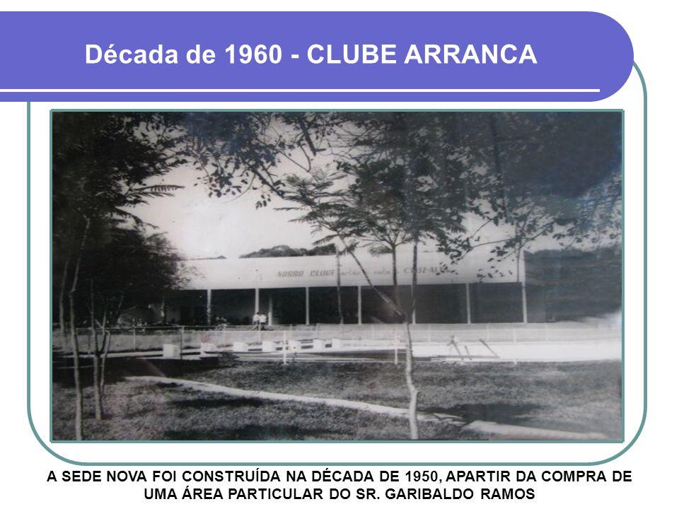 Década de 1960 - CLUBE ARRANCA