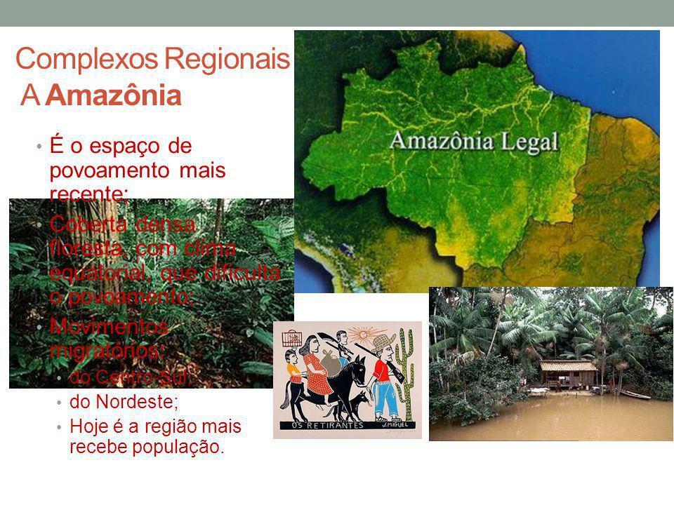 Complexos Regionais A Amazônia
