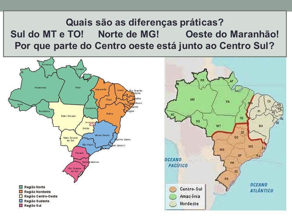 Outras possibilidades de regionalizar o Brasil P. 389