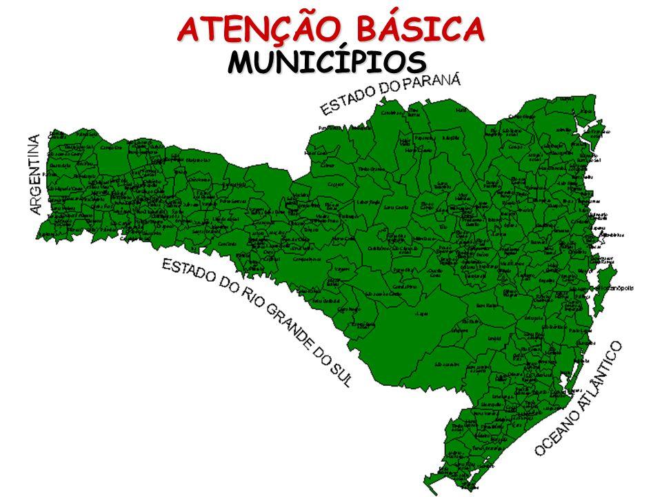 ATENÇÃO BÁSICA MUNICÍPIOS