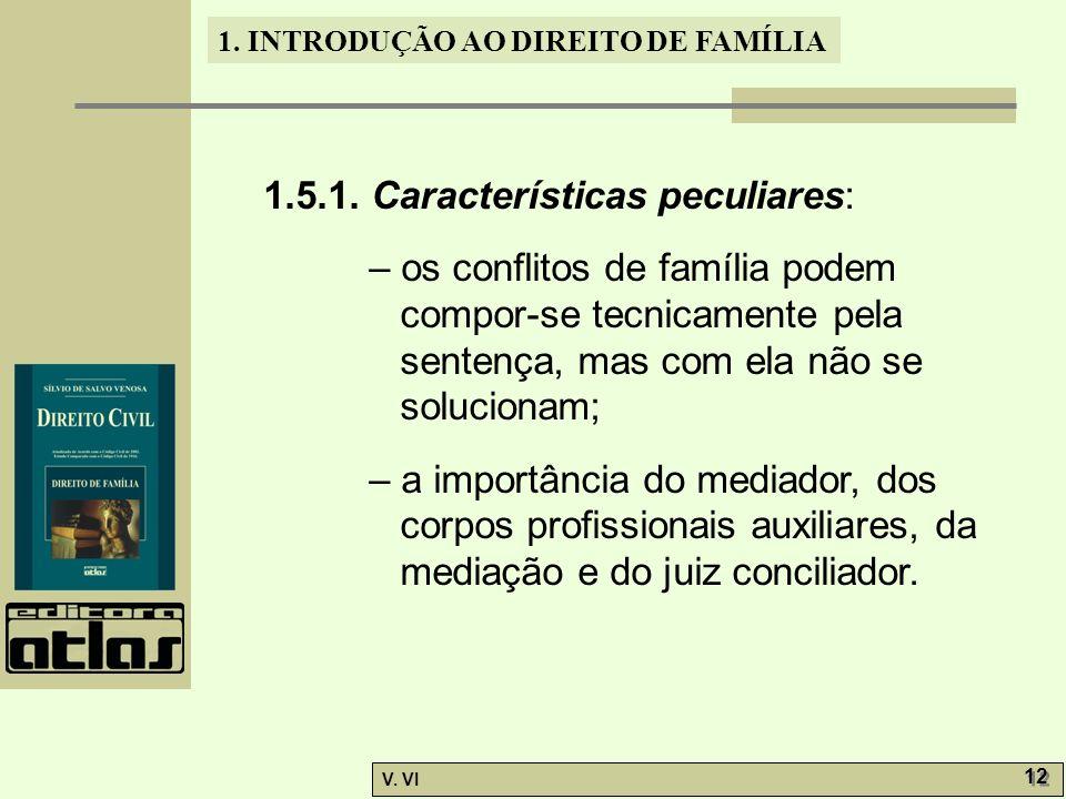 1.5.1. Características peculiares: