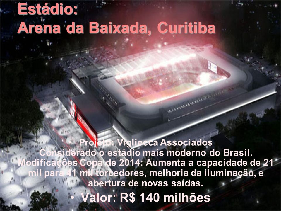 Estádio: Arena da Baixada, Curitiba