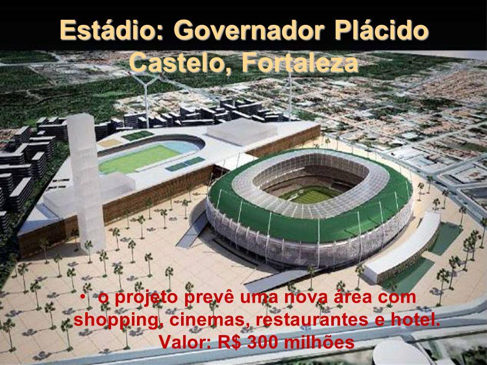 Estádio: Governador Plácido Castelo, Fortaleza